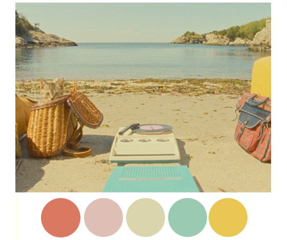As paletas de cores de Wes Anderson                                                                                                                                                                                 Plus