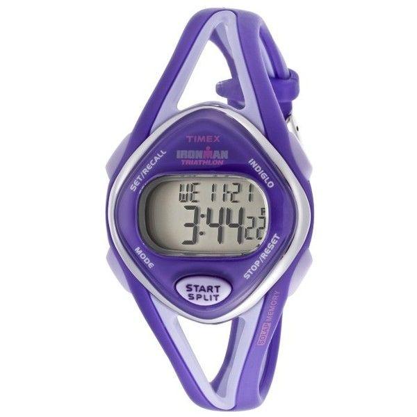 Women's Iron Man Purple & Lavender Digital TIMEX-T5K654 Watch $55