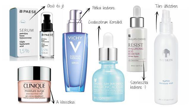 KrémMánia: Top összetevők + termékek vízhiányos bőrre