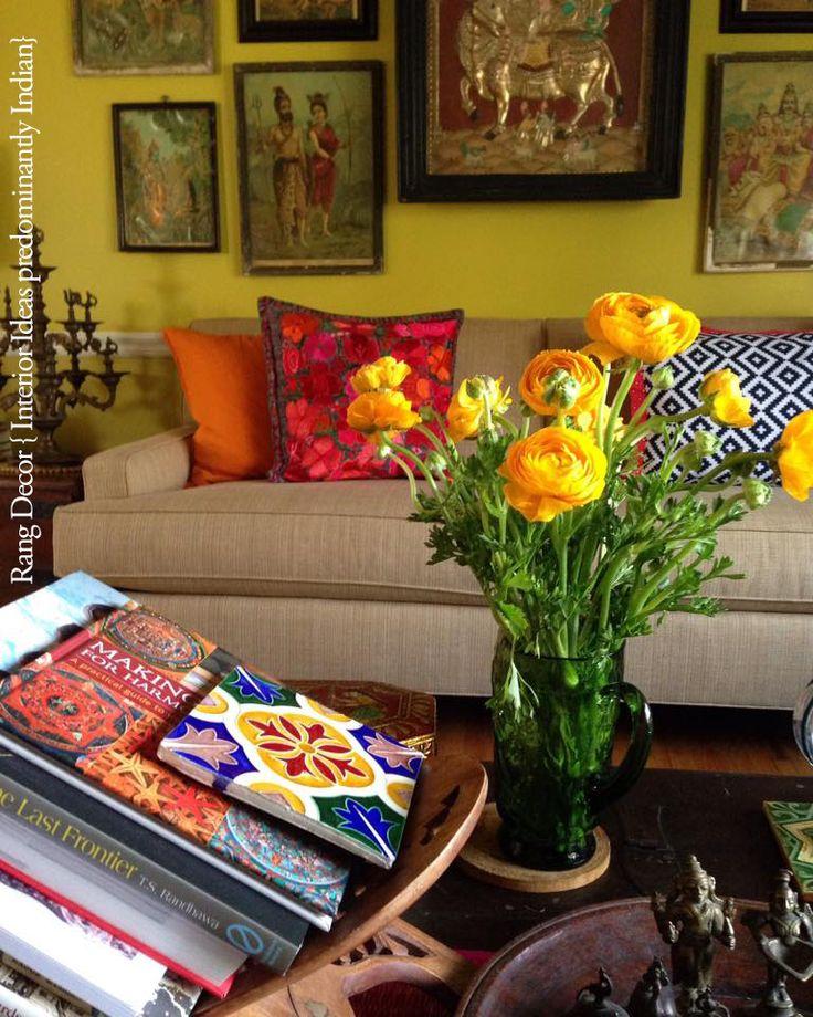 Our Living Room Rang Decor Indian HomesIndian StyleRoom