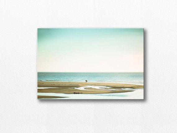 nautical decor beach canvas art 12x12 24x36 by mylittlepixels