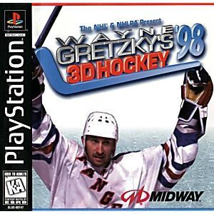 Wayne Gretzky's NHL 98 3D Hockey - PS1 Game