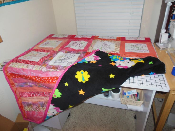Quilt for our granddaughter