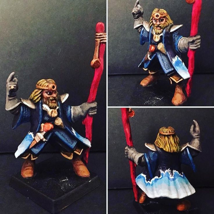 Shared by heroquestxp #heroquest #microhobbit (o) http://ift.tt/2aAgRqS on with the commission! Third model: Advanced Heroquest wizard!   #advanced #wizard #miniature #painting #model #instagood #instadaily #picoftheday #fantasy #blue