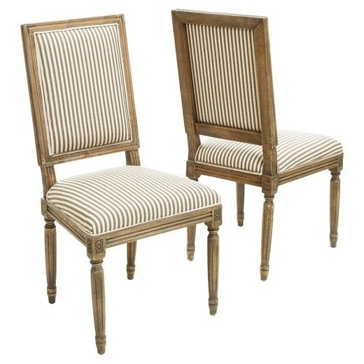 The Christopher Knight Home Madison Weathered Oak Dining Chairs (set of 2) are a perfect addition to any room in your home. These chairs not only embellish any dining set, but it also double as stand alone pieces for any parlor or living room. The bold fabric paired with the weathered oak creates blending of style that adds an exciting touch to your interior space.
