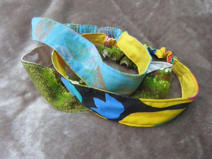 Fabric Headbands - Acacia Dreams...