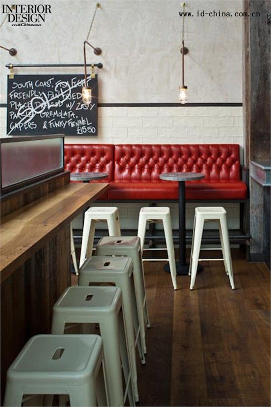 工业区的记忆缩影——Jamie's Italian餐厅_美国室内设计中文网