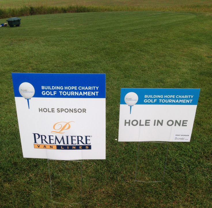 Premiere Van Lines - Calgary had sponsored hole 16 at the CREB Charitable Golf Tournament at Springbank Links Golf Club. All players got the chance to win $5,000 with a hole in one. Unfortunately the weather was uncooperative and no one took home the grand prize but everyone had a lot of fun none the less: http://premierevanlines.com/branches/ab/premiere-van-lines-calgary