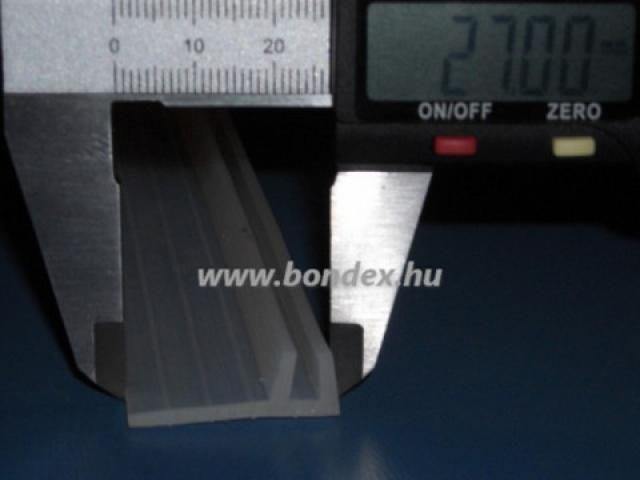 Hosszúszárú zuhanykabin tömítés 4 mm-es üveghez