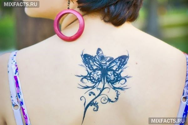 значение татуировки бабочки