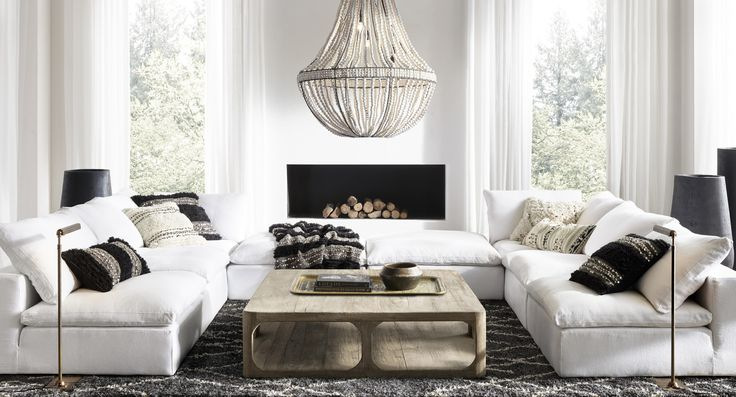 how to find the right throw pillow for your sofa in 2019 interior living room sectional. Black Bedroom Furniture Sets. Home Design Ideas