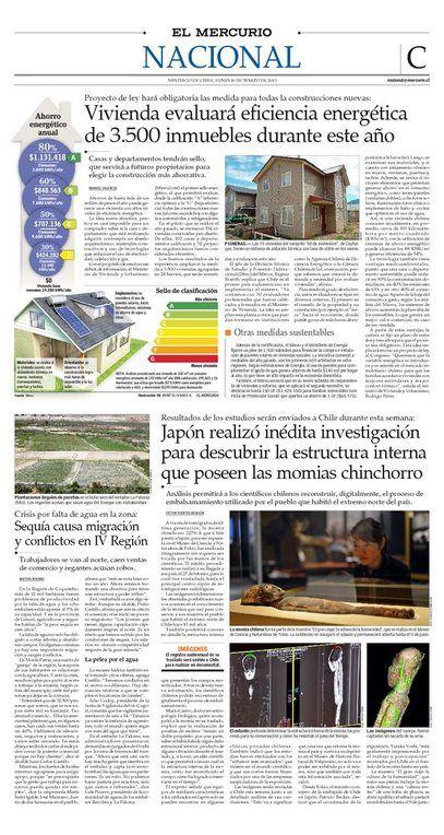 Japón realizó inédita investigación para descubrir la estructura internaque poseen las momias chinchorro. 18 de marzo 2013. El Mercurio