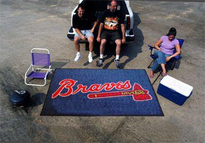 5' x 8' Atlanta Braves Ulti Mat