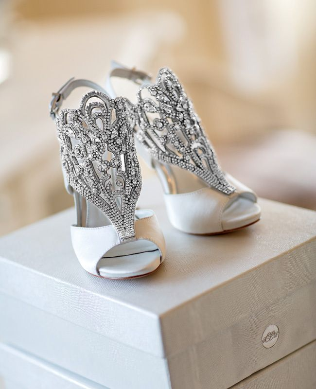 An Elegant Neutral Wedding at Ojai Valley Inn & Spa from Karlisch Photography | The Knot Blog – Wedding Dresses, Shoes, & Hairstyle News & Ideas: Vince Camuto, Wedding Shoes, Wedding Ideas, Wedding Dress, Dream Wedding, Weddingshoes, Bride, Bridal Shoes