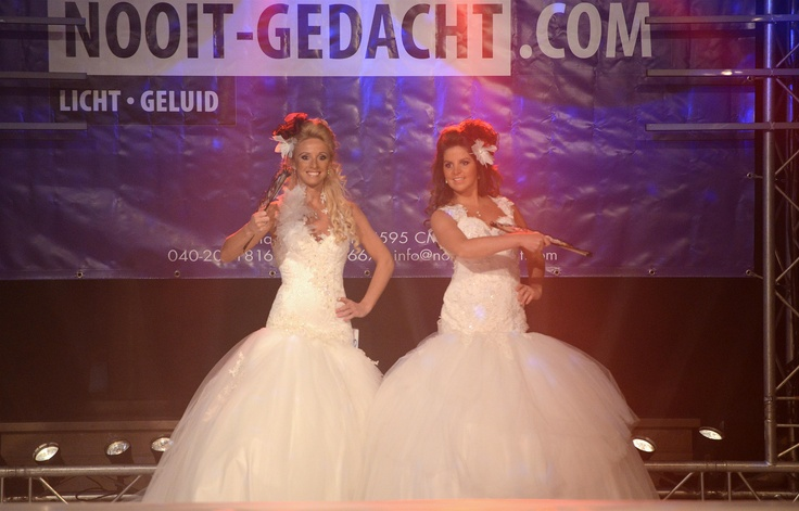 Sounds of Love trouwbeurs 26-27 januari 2013 met wervelende shows van Koonings Bruid en Bruidegom.