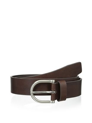 53% OFF Ike Behar Men's 35mm Oil Tan Belt (Brown)