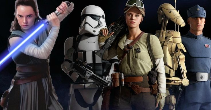 Rey's Parents Finally Revealed in Star Wars: Battlefront 2 Game? -- A new theory positions two new Star Wars canon characters as the true birth parents of Rey in Star Wars: The Last Jedi. -- http://movieweb.com/star-wars-battlefront-2-reys-parents-revealed/