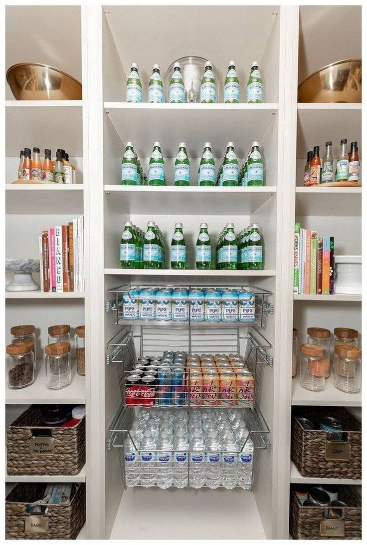 24+ How To Create The Perfectly Organized Pantry Small