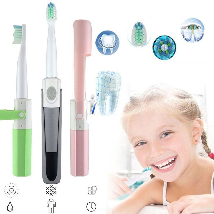 Mini Advance Powered Battery Operated Sonic Electric Toothbrush