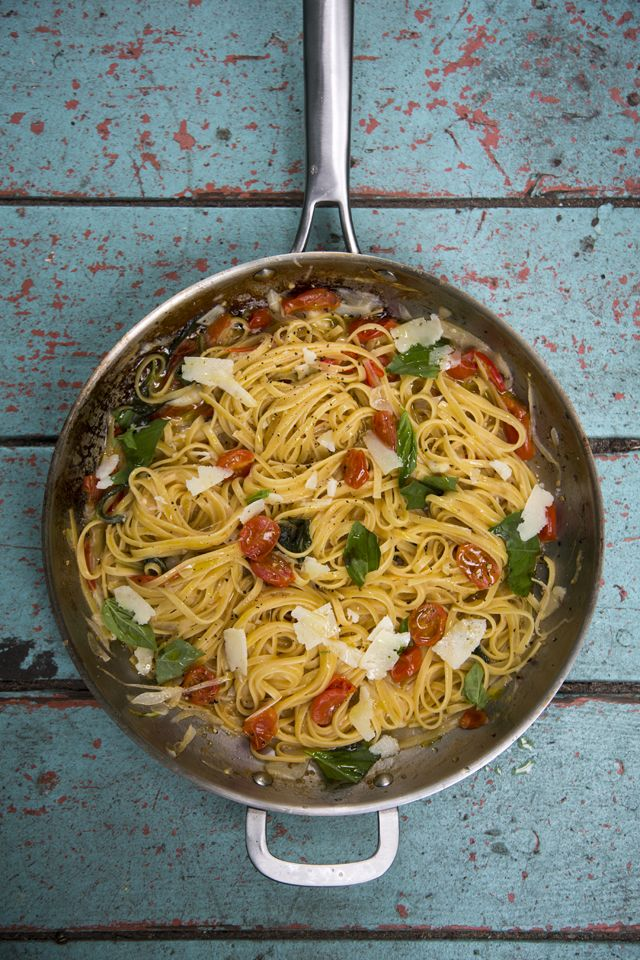 Martha's One Pan Pasta | DonalSkehan.com, A brilliantly simple pasta dish inspired by American food writer and domestic goddess Martha Stewart.