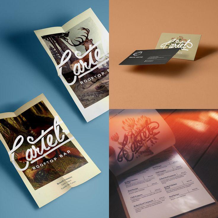 Cartel Bar Identity on Behance