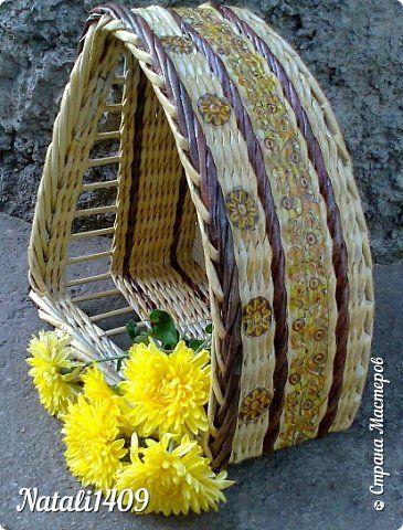 eldolgozás Поделка изделие Плетение Парад загибок Трубочки бумажные фото 1