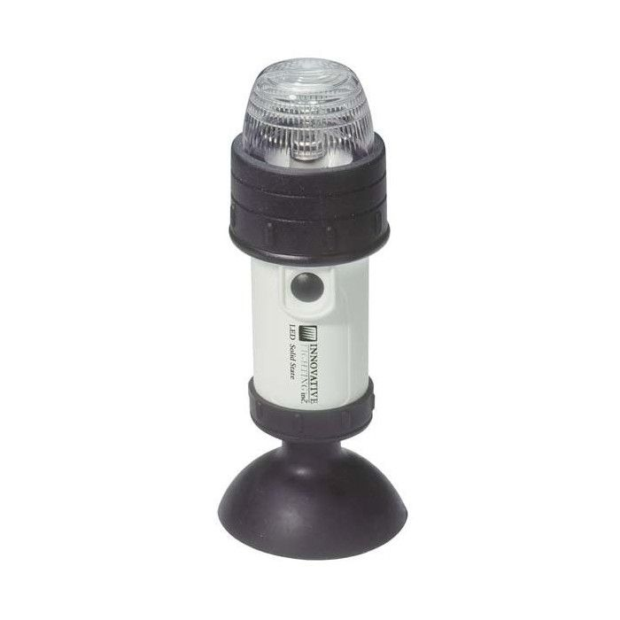 Portable LED Stern Navigation Light - Suction Cup Mount