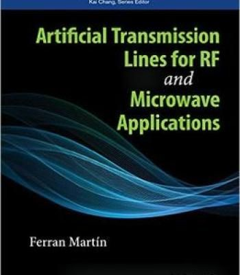 Artificial Transmission Lines For Rf And Microwave Applications PDF