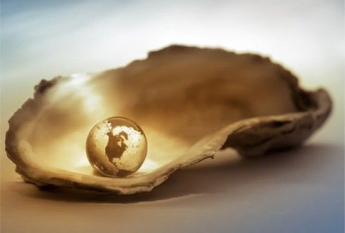The world is my oyster.