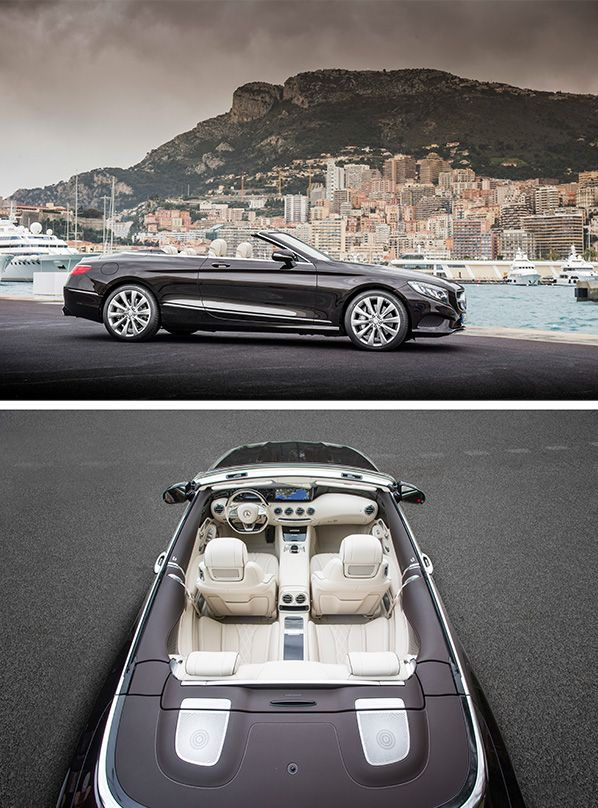 The new Mercedes-Benz S-Class Cabriolet symbolizes the passion for individual and timelessly exclusive mobility.