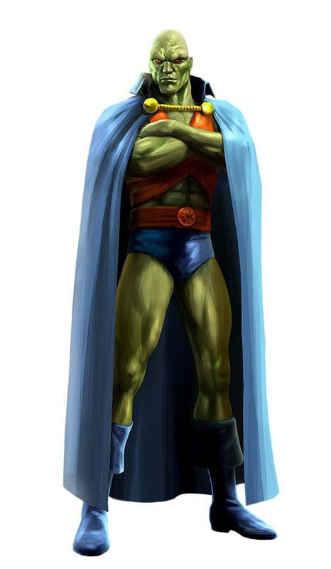 Martian Manhunter, Justice League Heroes by Albert Co