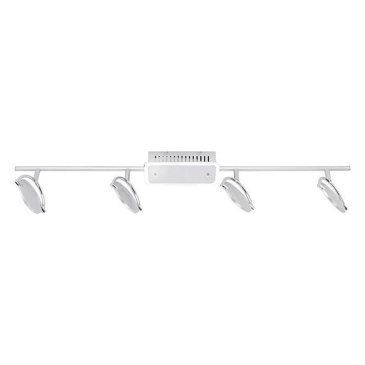 EEK A+, LED-Deckenleuchte Medow - Metall - Silber, Fischer Leuchten Jetzt bestellen unter: https://moebel.ladendirekt.de/lampen/deckenleuchten/deckenlampen/?uid=8dc02735-ada0-52ac-a734-8a4046f02b45&utm_source=pinterest&utm_medium=pin&utm_campaign=boards #deckenleuchten #leuchten #lampen #innenleuchten #fischer #deckenlampen