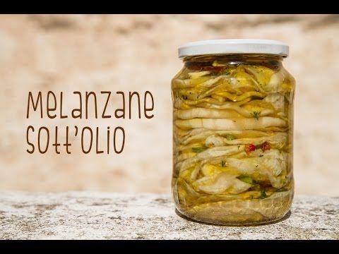 Melanzane sott'olio: la ricetta e i trucchi per conservarle (VIDEO)