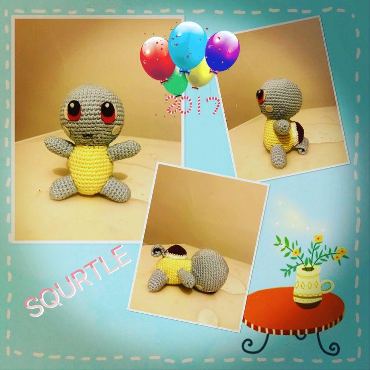 Squrtle #pokemon #amigurumi #crochet #handmade