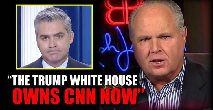 """Rush Limbaugh Rips """"Crying Jim"""" Acosta a New One! – TruthFeed"""