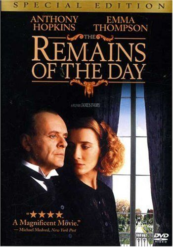 This movie is so quiet and so passionate. Painful and beautiful.: James Of Arci, Dust Jackets, Remain, Anthony Hopkins, Favorite Movies, Emma Thompson, Book Jackets, Downton Abbey, Dust Covers