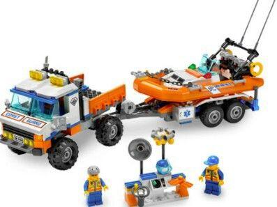LEGO Coast Guard Truck and Speedboat