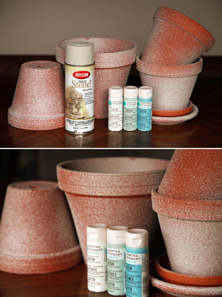 10 Diy Flower Pot Painting Ideas Diy Flower Pots Clay
