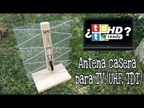 CÓMO HACER UNA ANTENA CASERA PARA VER LA TV (HD) - YouTube