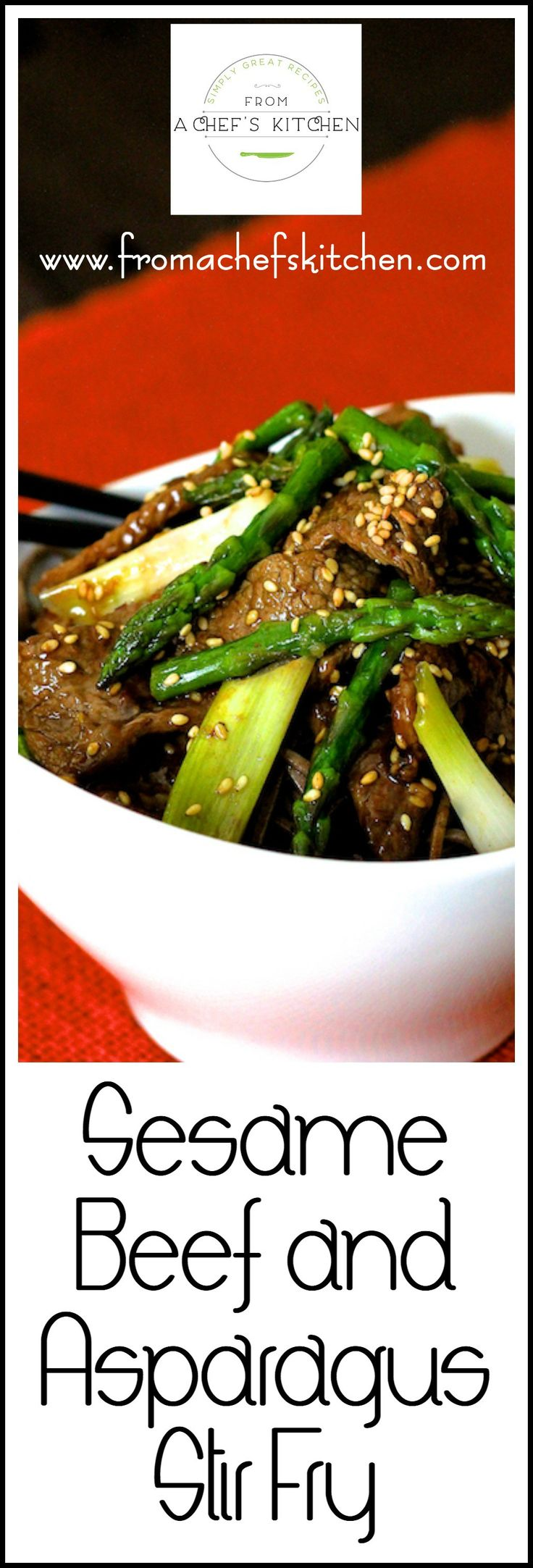 Sesame Beef And Asparagus Stir Fry Is Easy To Pull Together When The Asian Food