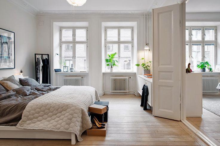 Duvet day in this beautiful Swedish bedroom?!