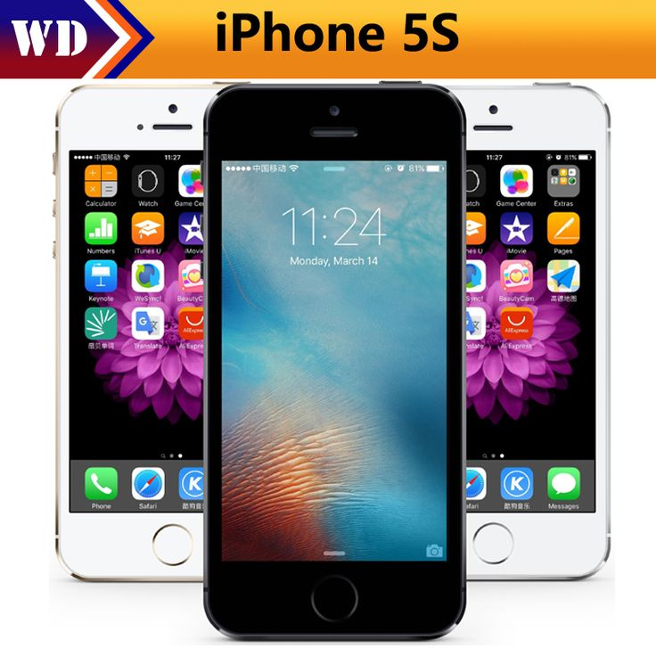 "Apple iPhone 5S Original Cell Phones Dual Core 4"" IPS Used Phone 8MP 1080P Smartphone GPS IOS iPhone5s Unlocked Mobile Phone     Tag a friend who would love this!     FREE Shipping Worldwide     Buy one here---> https://www.techslime.com/apple-iphone-5s-original-cell-phones-dual-core-4-ips-used-phone-8mp-1080p-smartphone-gps-ios-iphone5s-unlocked-mobile-phone-3/"
