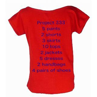 Project 333. Starting in September @Mary Swink @Teresa Amador @Sara Amador @Tirzah Clerc @Selina Amador