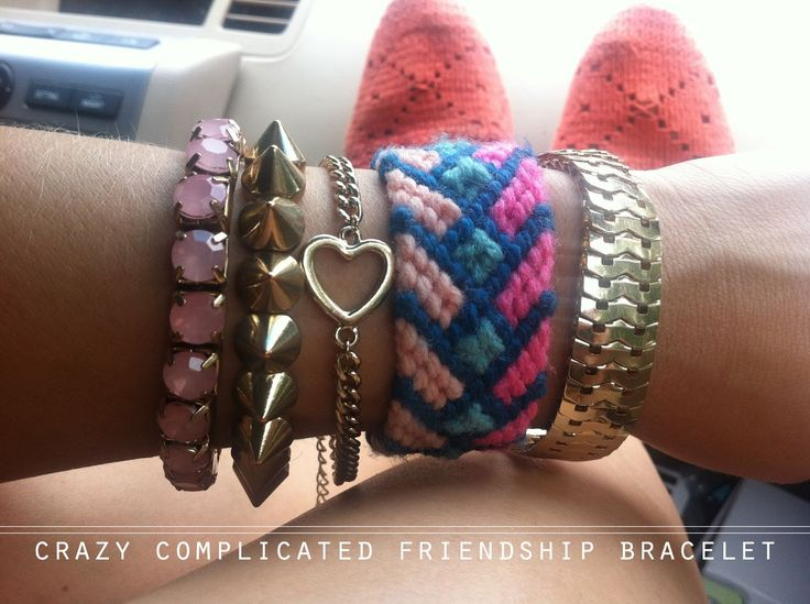 Brace Yourself: Crochet and Crafted Friendship Bracelets   Lion Brand Notebook