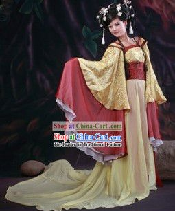 Ancient Chinese Wide Sleeve Princess Costumes         Springfield