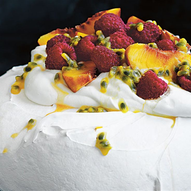 Try this The Perfect Pavlova recipe by Chef Donna Hay. This recipe is from the show Donna Hay: Basics To Brilliance.