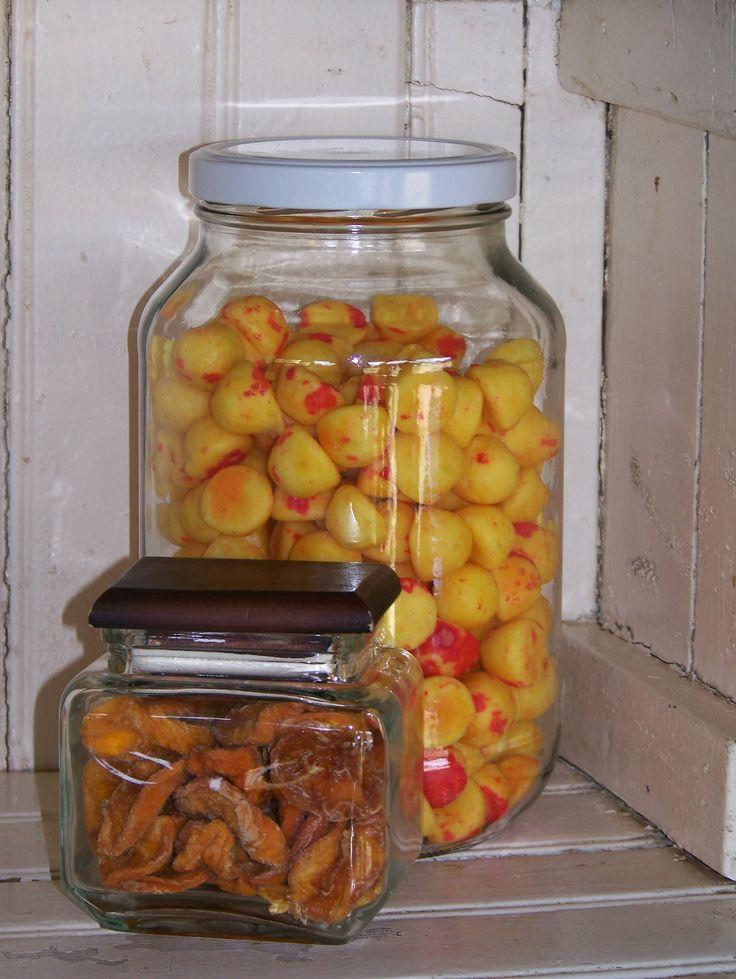 Perskes en soet appelkose
