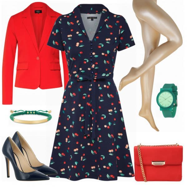 Business Outfits: Cherry bei FrauenOutfits.de #mode #damenmode #frauenmode #outf…