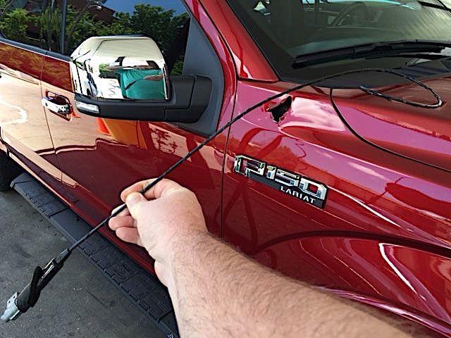Automatic Car Wash Destroys Aluminum F-150 Antenna -