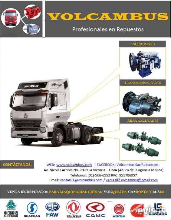 Bomba de inyeccion (Sinotruck, Shacman, Faw, otros.) VOLCAMBUS SAC, Somos una empresa peruana dedicad .. http://lima-city.evisos.com.pe/bomba-de-inyeccion-sinotruck-shacman-faw-otros-id-651565